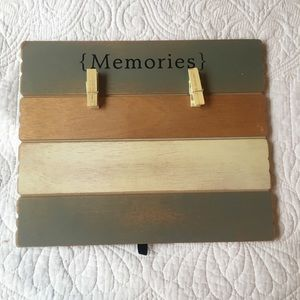 """ memories "" picture holder"